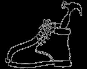 Podotherapie icm met uw werkschoenen